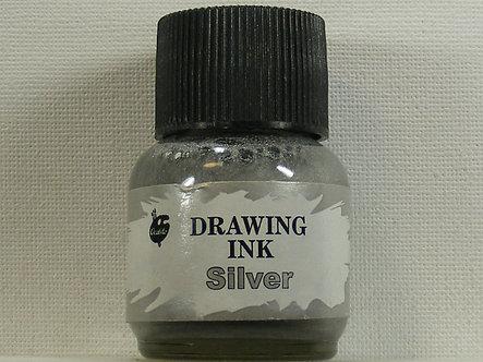 Ocaldo - Drawing Ink - Silver (28ml)