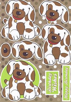 Buzzcraft - Cut & Create Farmyard Puppy