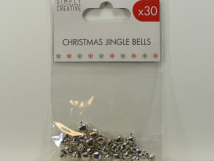 Simply Creative - Christmas Jingle Bells – Silver