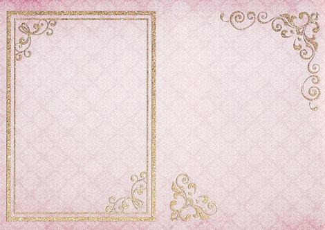 Kanban - Vintage Glamour Background Card.