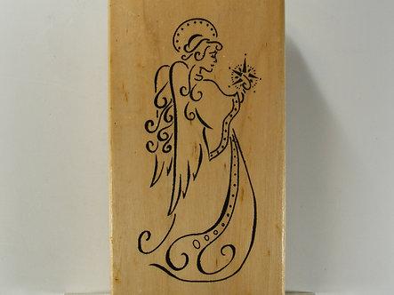 Anita's - Angel Gabriel Rubber Stamp