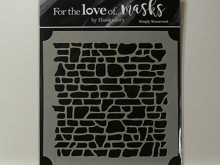 Hunkydory -  For the Love of Masks - Simply Stonework
