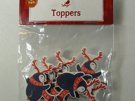 Hobbycraft - Penguin Wooden Toppers