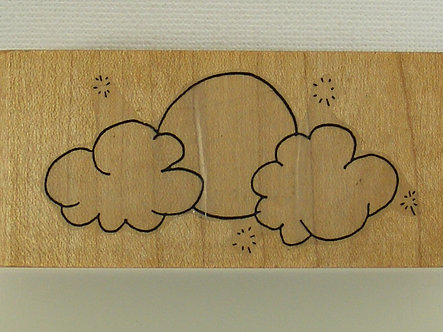 Creative Stamps - Cloud Formation Rubber Stamp