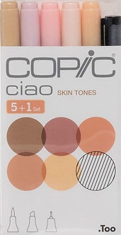 Copic Ciao - Skin Tones Markers