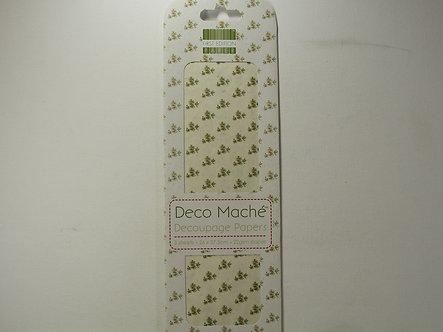 First Edition - Deco Mache Paper - Mistletoe