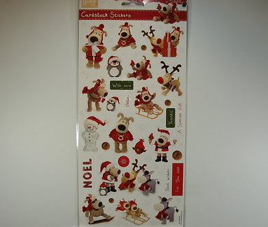 Docrafts - Boofle Cardstock Stickers (Mini Boofle)