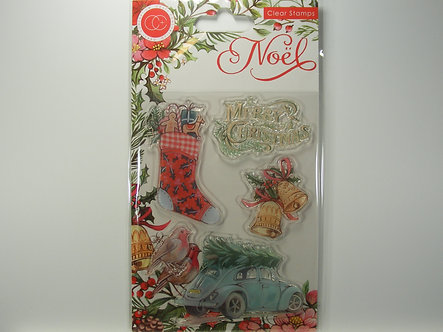 Craft Consortium - Noel - Festivity Clear Stamps