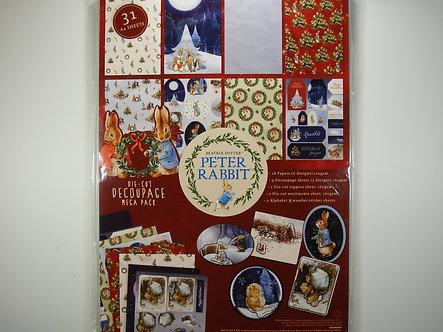 Avec - Peter Rabbit Die-Cut Decoupage Mega Pack