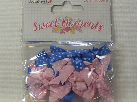 Dovecraft - Sweet Moments Mini Bows