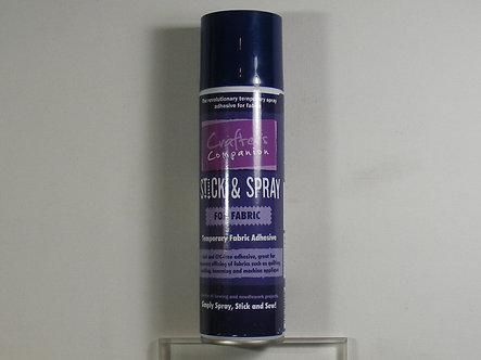 Crafter's Companion - Stick & Spray - Fabrics.