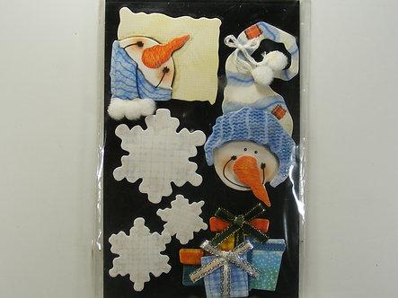 GCS Embellishments - Snowman In A Big Hat