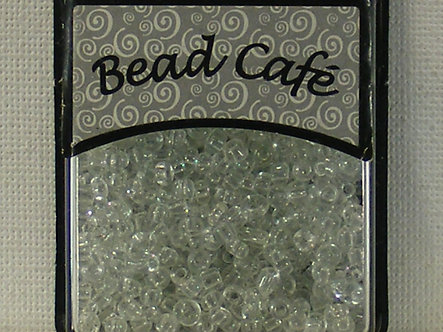 Bead Cafe - White 3mm Glass Beads