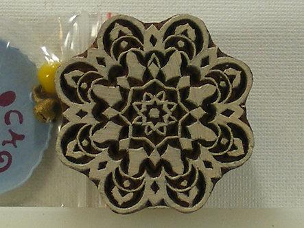 Block Wallah - Flowering Mandala Stamp