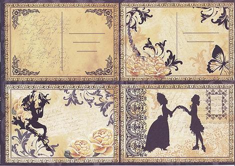 Kanban - Baroque Postcards Topper