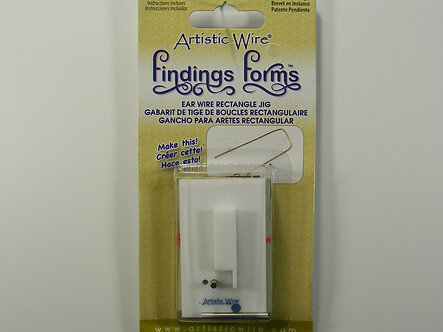 Beadalon - Artistic Wire - Ear Wire Rectangle Jig