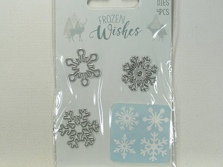 Hobbycraft - Frozen Wishes Snowflake Mini Dies.