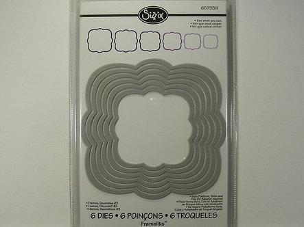 Sizzix - Decorative Frames #3