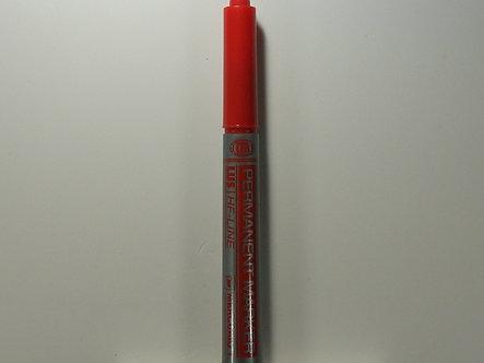 Mercurio Permanent Marker - Cut Tip (Red)