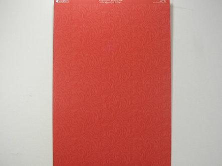 Kanban - Christmas Swirls Red Background Card