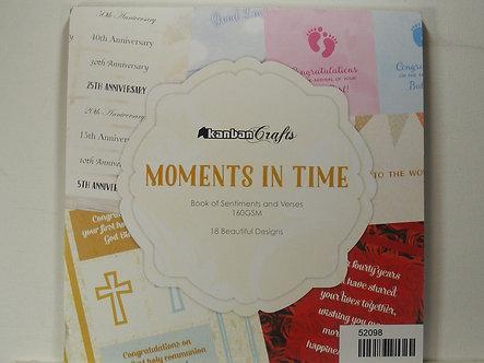 """Kanban - Moments In Time 8"""" x 8"""" Pad"""