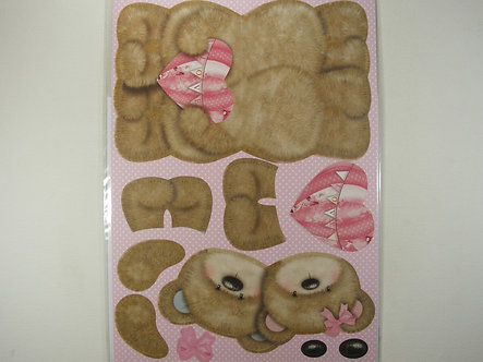 Kanban - Bears In Love Wobbler Card Kit