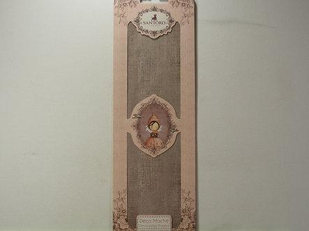 Santoro - Deco Mache Decoupage Paper - Charcoal Canvas