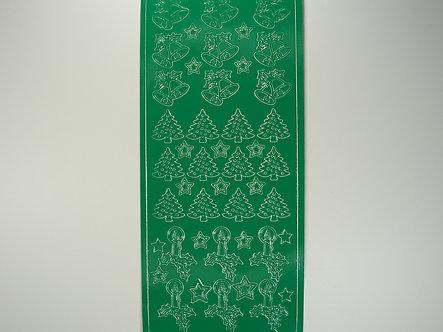 Christmas Peel Offs - Bells (Green)