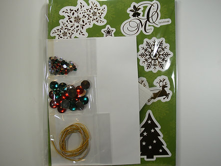 Create & Craft - Frivolous Foiling Card Kit