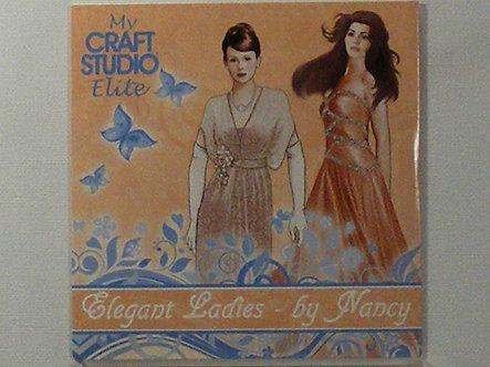 My Craft Studio Elite - Elegant Ladies CDrom.