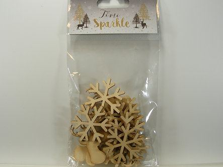 Dovecraft - Time To Sparkle - Wooden Embellishments