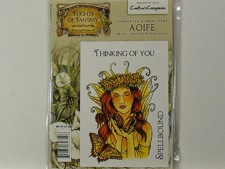 Crafters Companion - Flights Of Fantasy Aoife Rubber Stamp