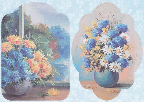 Kanban - Spring Blooms Topper