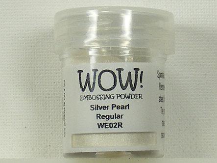 WOW! - Silver Pearl Regular Embossing Powder