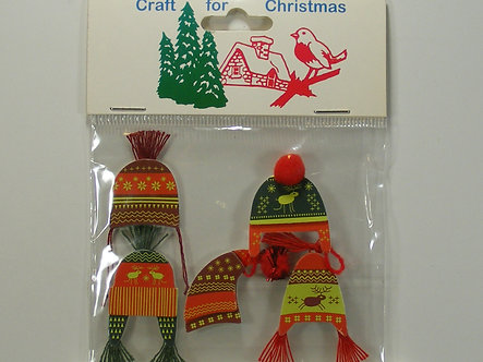 Craft For Christmas - Nordic Hat Toppers