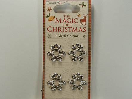 Dovecraft - The Magic of Christmas Snowflake Charms