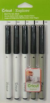 Cricut Explore - Multi Pen Set (Black)