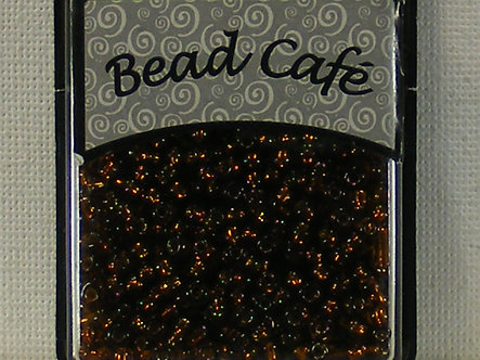 Bead Cafe - Brown 3mm Glass Beads
