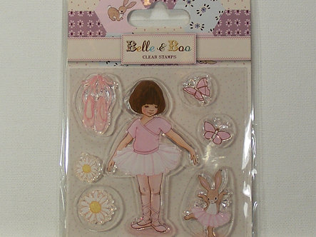 Belle & Boo - Ballet Clear Acrylic Stamps