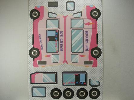 Kanban - Kan-Cars Card Kit - Ice Cream Van.