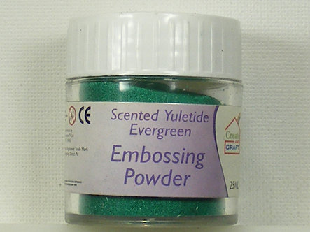 Create & Craft - Scented Yuletide Evergreen Embossing Powder