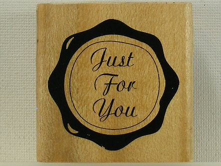 Anita's - Just For You Mounted Rubber Stamp
