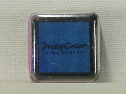Pretty Color - Pigment Mini Ink Pad - Blue