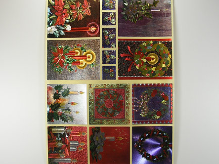 Dufex - Christmas Sticker Sheet