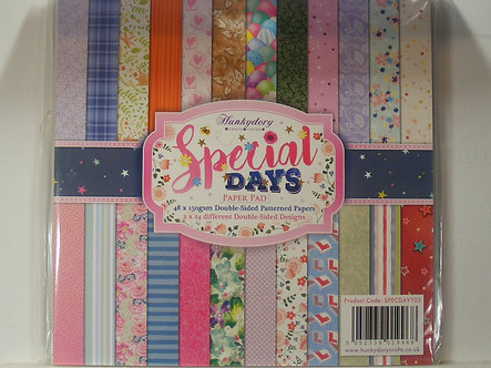 Hunkydory - Special Days Paper Pad