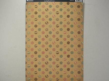 Kanban - Vintage Baubles Background Card.