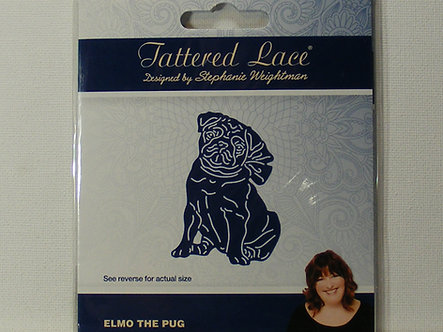 Tattered Lace - Elmo The Pug Die