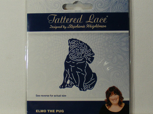 Tattered Lace Elmo The Pug Die