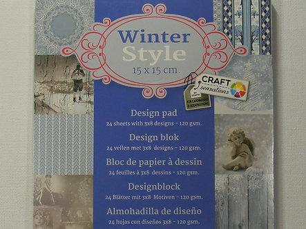 Craft Sensations - Winter Style Paper Pad