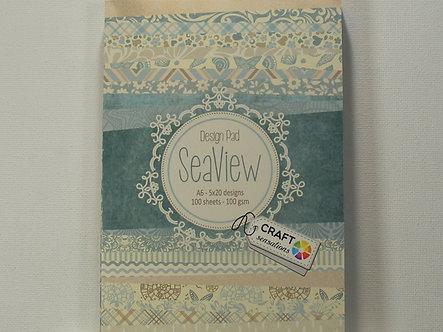 Craft Sensations - Seaview A6 Design Pad.